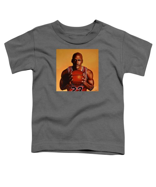 Michael Jordan 2 Toddler T-Shirt