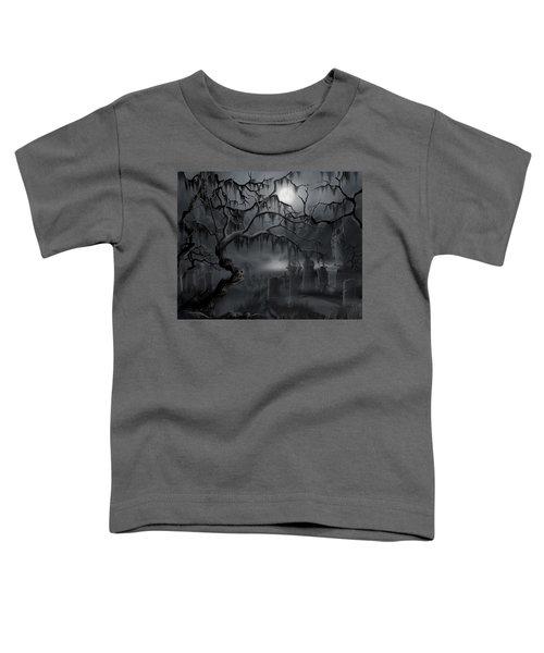 Midnight In The Graveyard  Toddler T-Shirt