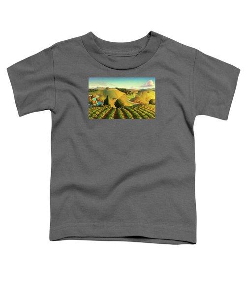 Midwest Vineyard Toddler T-Shirt
