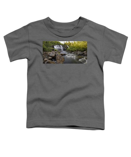 Toddler T-Shirt featuring the photograph Mink Falls by Doug Gibbons