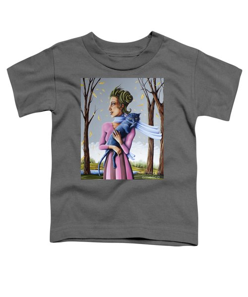 Miss Pinky's Outing Toddler T-Shirt