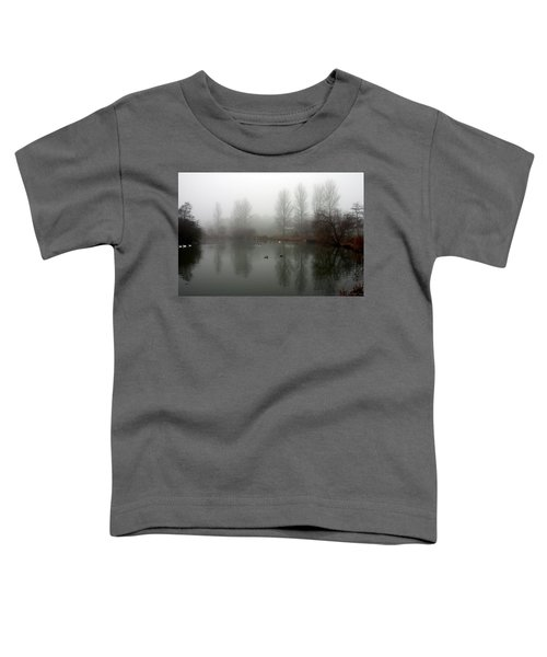 Misty Lake Reflections Toddler T-Shirt