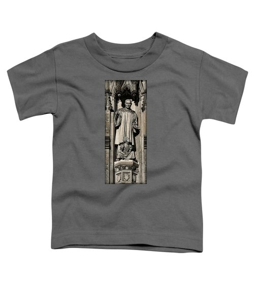 Mlk Memorial Toddler T-Shirt by Stephen Stookey