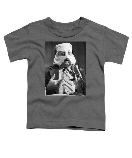 Mob Figure Testifies Toddler T-Shirt