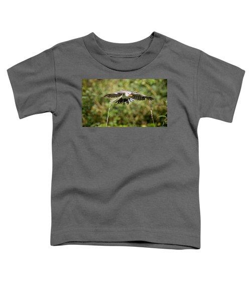 Mockingbird In Flight Toddler T-Shirt by Bill Wakeley