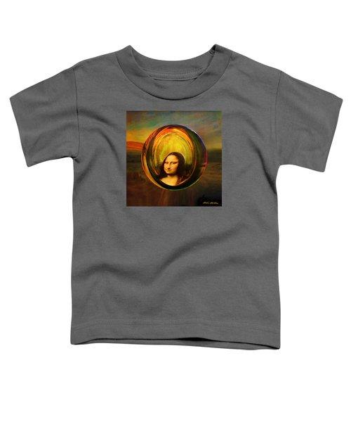 Mona Lisa Circondata Toddler T-Shirt