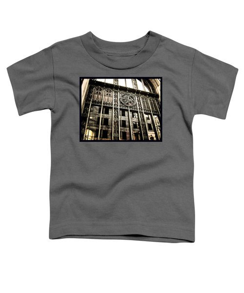 Toddler T-Shirt featuring the photograph Montreal Rm En Couleur by Shawn Dall