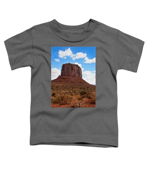 Monument Valley Monolith West Mitten Butte Toddler T-Shirt