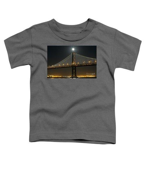 Moon Atop The Bridge Toddler T-Shirt