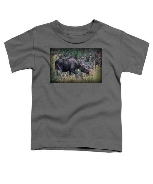 Moose In The Meadow Toddler T-Shirt