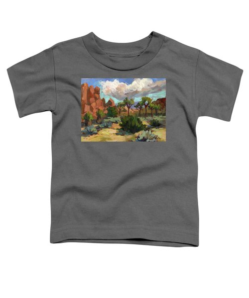 Morning At Joshua Toddler T-Shirt
