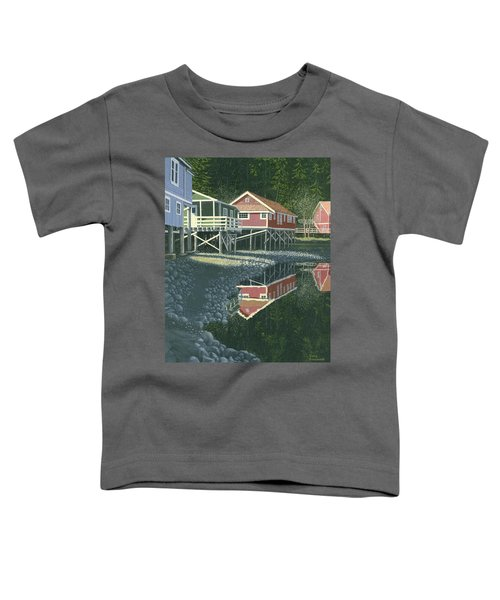 Morning At Telegraph Cove Toddler T-Shirt