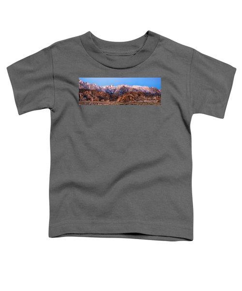 Morning Light Mount Whitney Toddler T-Shirt