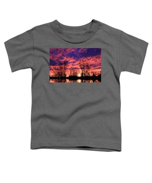 Morning Reflection Toddler T-Shirt