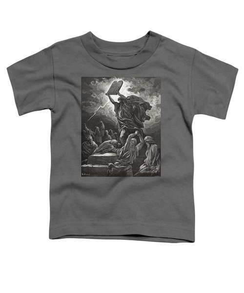Moses Breaking The Tablets Of The Law Toddler T-Shirt
