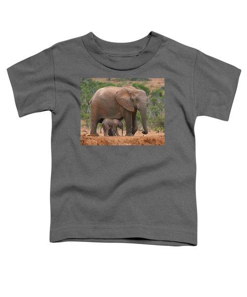 Mother And Calf Toddler T-Shirt