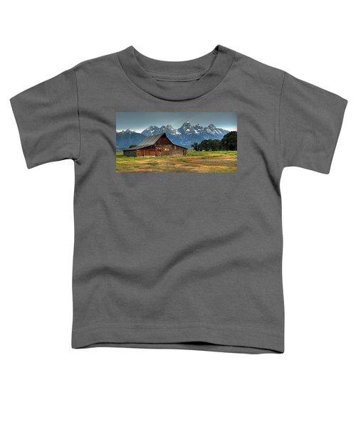 Moulton Barn Morning Toddler T-Shirt