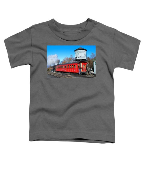 Mount Washington Cog Railway Car 6 Toddler T-Shirt