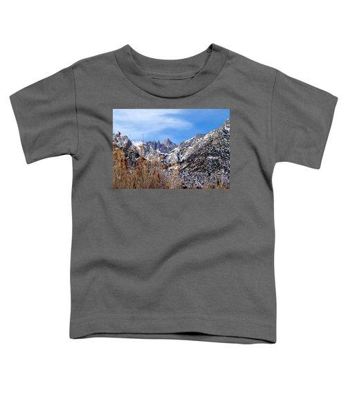 Mount Whitney - California Toddler T-Shirt