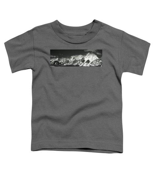 Mountain Range, Grand Teton National Toddler T-Shirt