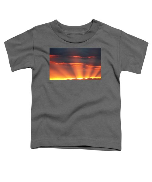 Mountain Rays Toddler T-Shirt
