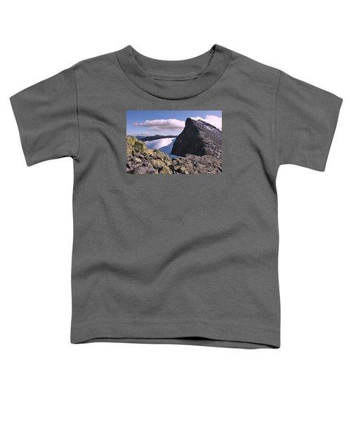 Mountain Summit Ridge Toddler T-Shirt