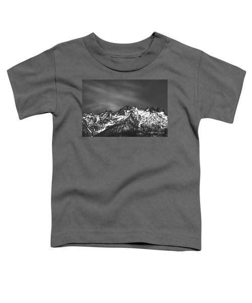 Toddler T-Shirt featuring the photograph North Cascade Mountain Range by Yulia Kazansky