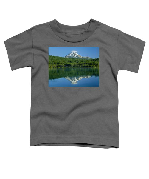 1m5705-h-mt. Mcloughlin From Lake Of The Woods Toddler T-Shirt