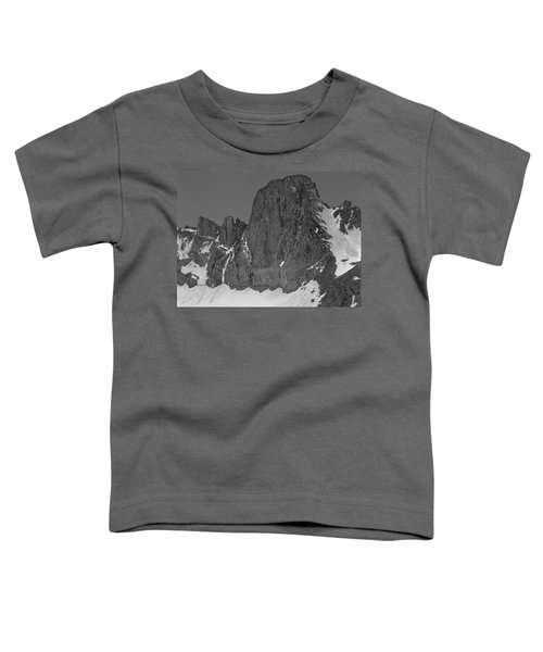 406427-mt. Sill, Bw Toddler T-Shirt