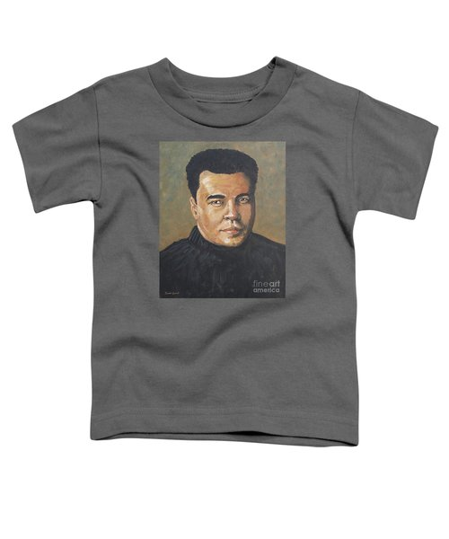 Muhammad Ali/the Greatest Toddler T-Shirt