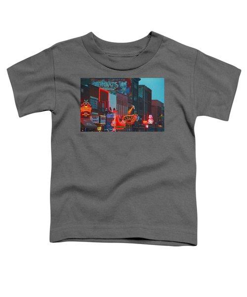 Broadway Street Nashville Tennessee Toddler T-Shirt