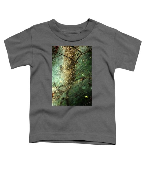 Natures Past Captured In A Web Toddler T-Shirt