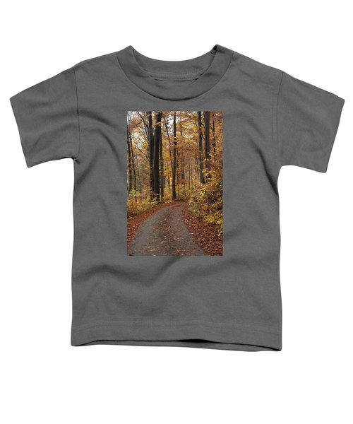 New Autumn Trails Toddler T-Shirt