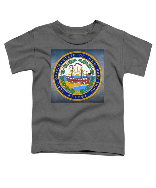 New Hampshire State Seal Toddler T-Shirt