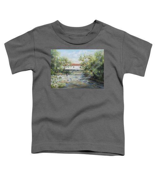New Jersey's Last Covered Bridge Toddler T-Shirt