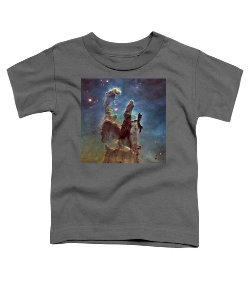 New Pillars Of Creation Hd Square Toddler T-Shirt