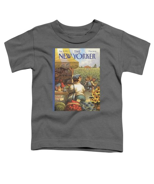 New Yorker August 14th, 1995 Toddler T-Shirt