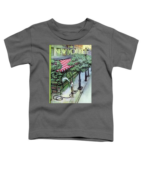 New Yorker August 27th, 1955 Toddler T-Shirt