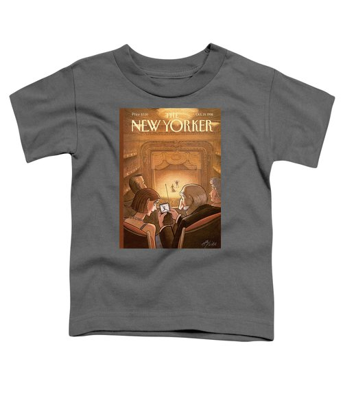 New Yorker October 19th, 1998 Toddler T-Shirt