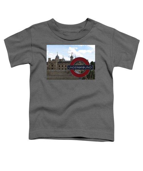 Next Stop Tower Of London Toddler T-Shirt
