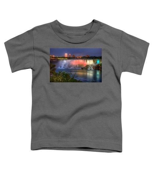 Niagara Falls Canada Sunset  Toddler T-Shirt