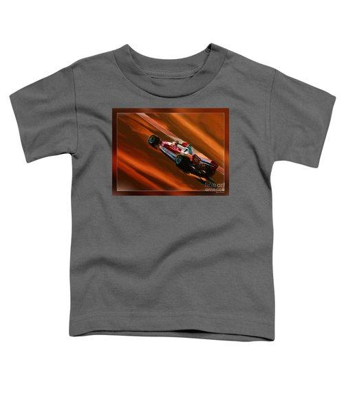 Niki Lauda's Ferrari Toddler T-Shirt
