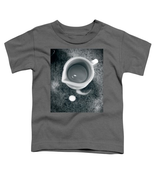 No Cream For My Coffee Toddler T-Shirt by Bob Orsillo