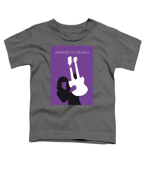 No011 My Led Zeppelin Minimal Music Poster Toddler T-Shirt by Chungkong Art