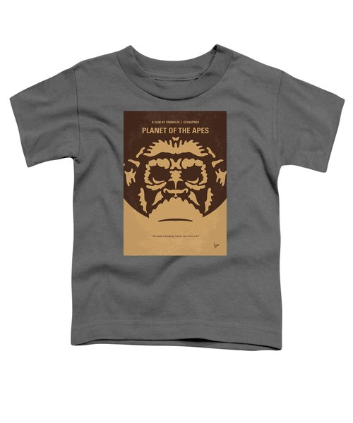 No270 My Planet Of The Apes Minimal Movie Poster Toddler T-Shirt