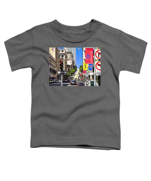 Nob Hill - San Francisco Toddler T-Shirt