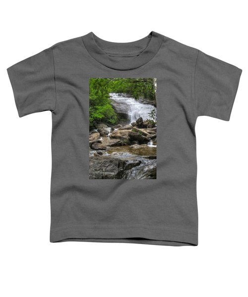 North Carolina Waterfall Toddler T-Shirt