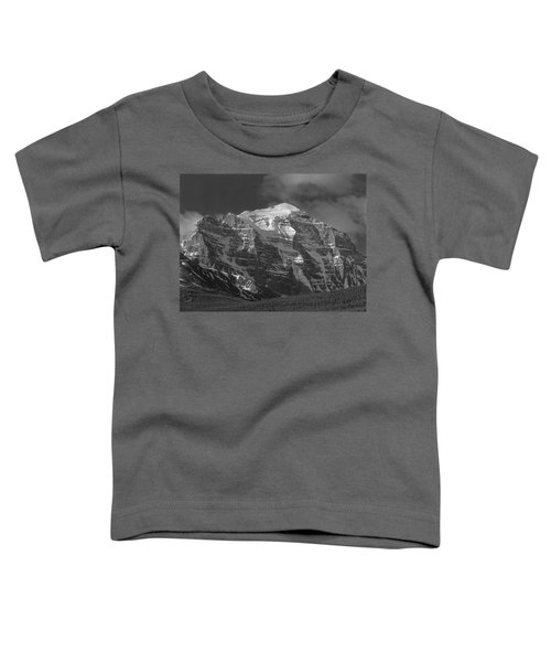 203553-north Face Mt. Temple Bw Toddler T-Shirt