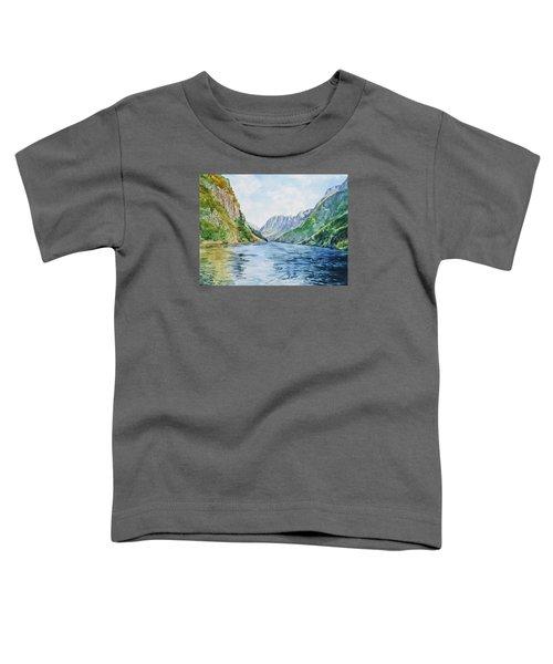Norway Fjord Toddler T-Shirt