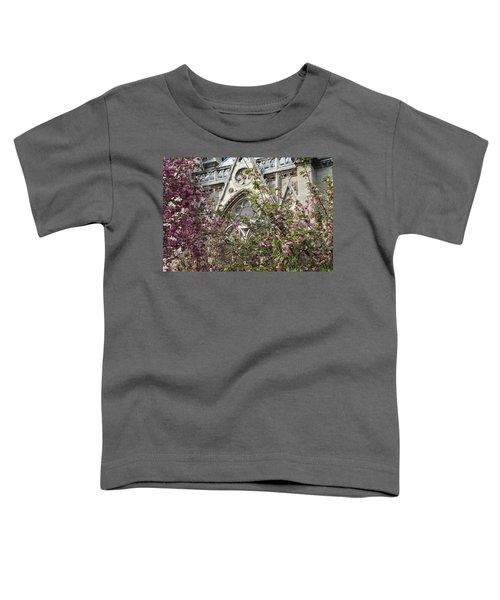 Notre Dame In April Toddler T-Shirt